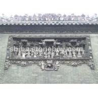 中式人物浮雕