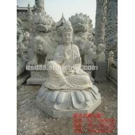 石雕观音菩萨,嘉祥石雕厂,中国石雕
