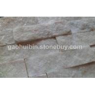 白石英 白到极致 纯白色天然石英文化石 美白