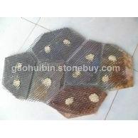 4 碎拼石材网贴背面细节图 专注于各种石材碎拼冰裂纹加工 代工生产