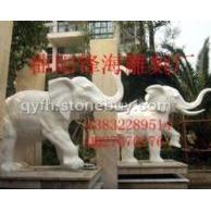 石雕、石雕大象、大理石大象、大象、各种石玉雕加工