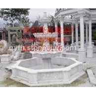 石雕喷泉、喷泉