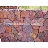 供应红色火山岩(玄武岩)