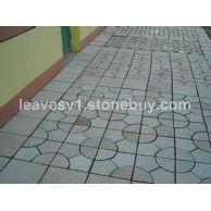 老张卡拉麦里金石材拼花地板砖