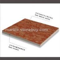 万寿红大理石复合板