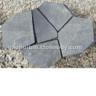 5 浅灰色碎拼石材 冰裂纹贴墙石材 欢迎来电咨询