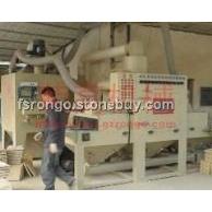 人造砂岩板自动喷砂机