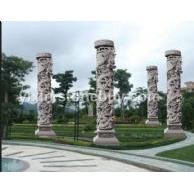 石材龙柱大型龙柱寺庙雕刻