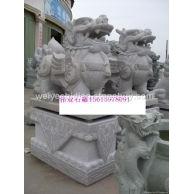 石雕貔貅瑞兽狮子麒麟各种动物雕塑