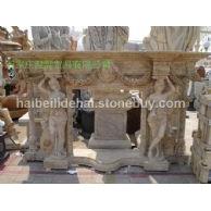 石雕欧式壁炉
