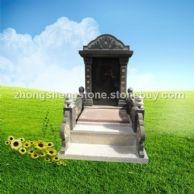 墓碑,中式传统碑,中式艺术碑,黑色墓碑