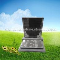 红色墓碑,中式墓碑,中式艺术碑