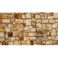 墙石地铺石白砂里金