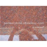 印度红中花花岗岩 红宝石 宝石红石材