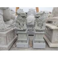 寺庙佛像,石狮,石牌,