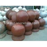 厂家直销:挡车球、挡车石、车止石、石球、花岗岩石球、大理石球、石球路障、障碍石球