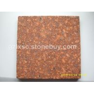 江西红色石材映山红光泽红石材富贵红G683石材规格板材批发
