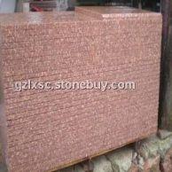代代红光泽红石材映山红仙人红石材富贵红四季红石材生产加工厂