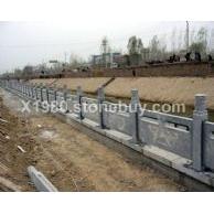 青石栏板 石雕栏杆 河道栏杆包安装