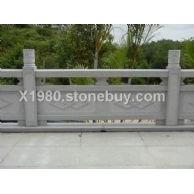 厂家供应花岗岩栏杆 石雕栏杆