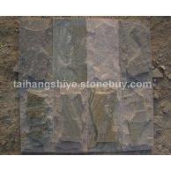 黄木纹杂色蘑菇石