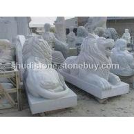 供应石雕狮子 北京狮子 港币狮子 麒麟大象