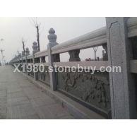 现货供应石栏板 石栏杆 石雕栏杆景区栏杆量大优惠
