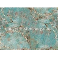 蓝冰玉、人造石、半宝石、海冰蓝、亚马孙玉、多瑙蓝、珍稀石材、特色石材