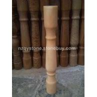 大理石花瓶柱
