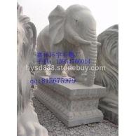 供应嘉祥环宇石雕厂石雕大象,青石大象,石塔 石鼎