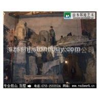 深圳惠州东莞广州珠三角-定制各类规格GRP/ GRC 景观雕塑假山瀑布