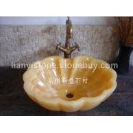 惠安松香黄洗手盆