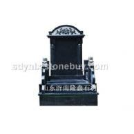 大量供应黑色公墓+墓碑