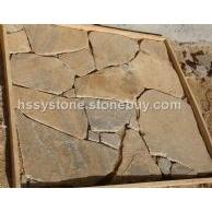 墙石地敷石土黄石英乱形石
