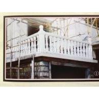 广西白栏杆楼梯花瓶柱
