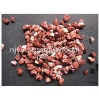 深色红色洗米石