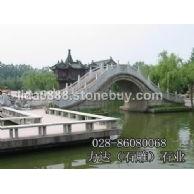 力达石雕拱桥