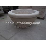 黄砂岩花盆 各种样式及规格