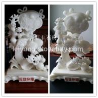 湖南汉白玉石雕原材料