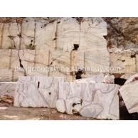 大量长期供应大理石荒料(红线白玉;黑白根;红龙玉)