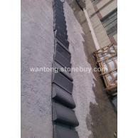 芝麻黑异形石材 生产批发基地 电话/微信18660260725