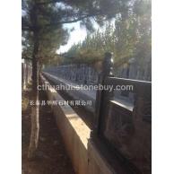 G654 芝麻灰 墓碑 栏杆 桥栏杆 园林用石 磨光面