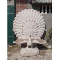 订做石雕孔雀  动物雕塑 花岗岩动物雕塑 石材加工雕塑