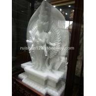缅甸白玉石雕刻料