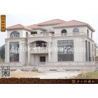 私人别墅石材外墙设计