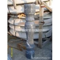 工厂大量现货批发  广西黑天然大理石栏杆  12X12X50  流星雨