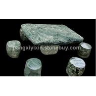 山河壁石桌石凳