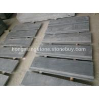 鸿祥大板自然板 芝麻灰 芝麻黑 灰色石材 福建灰麻花岗岩 2