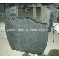 芝麻黑G654墓碑石 芝麻黑花岗岩 G655芝麻灰花岗岩 G641乔治亚灰 芝麻白G603石材 黄锈