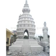 景观石塔 欧式石塔 石塔雕刻 石雕塔 景观塔